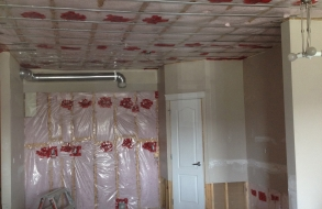 Sound bar and insulation