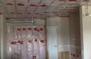Sound bar and insulation